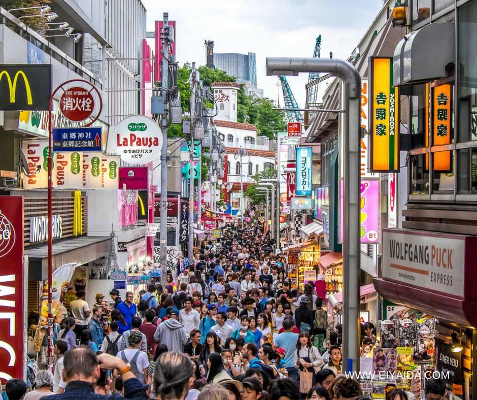 เที่ยวญี่ปุ่นหน้าร้อนชินไชบาชิ