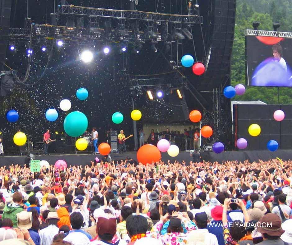 เที่ยวญี่ปุ่นหน้าร้อน กับเทศกาลดนตรี