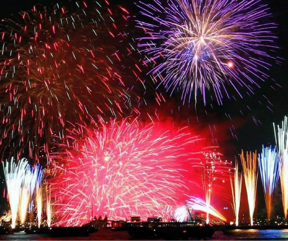 เที่ยวญี่ปุ่นสิงหาคม ที่Ashiya Fireworks