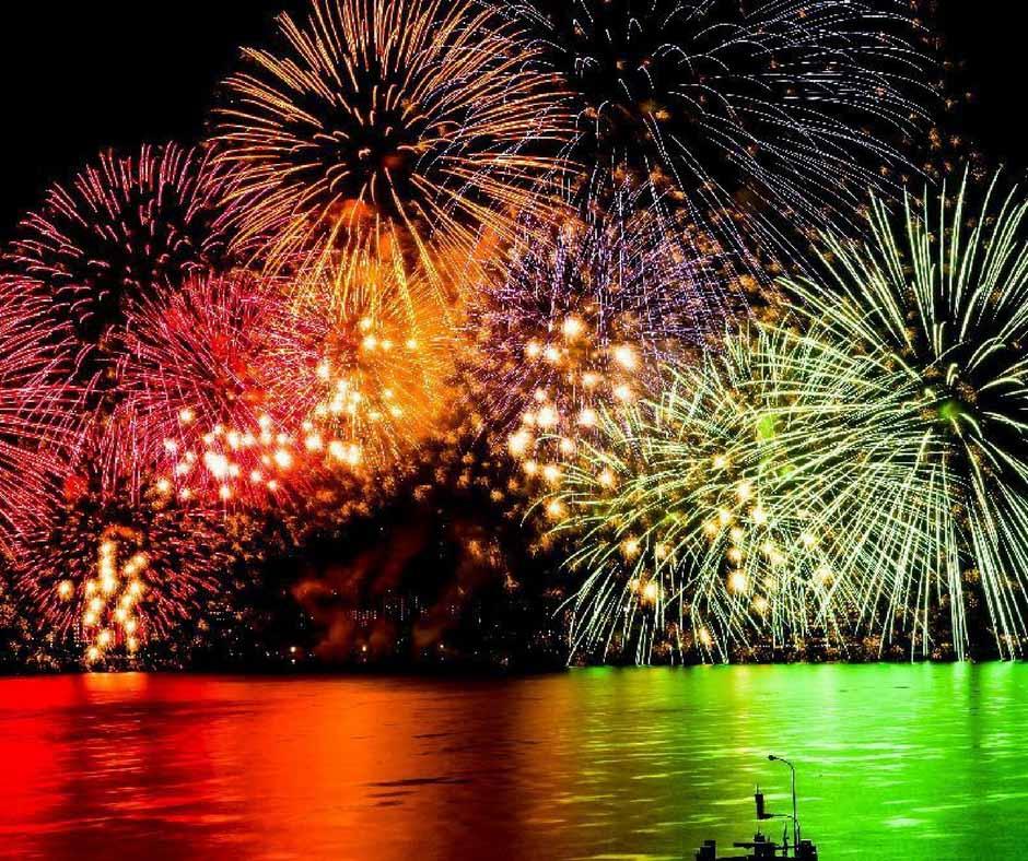 เที่ยวญี่ปุ่นสิงหาคม ที่ Biwa Lake Fireworks