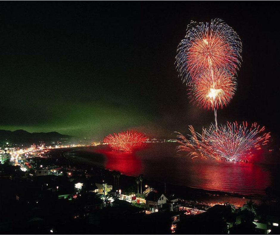 เที่ยวญี่ปุ่นสิงหาคม ที่ Kamakura Fireworks