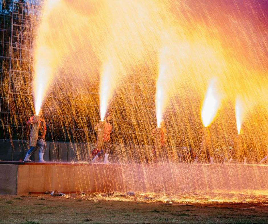 เที่ยวญี่ปุ่นสิงหาคม ที่Toyohashi Fireworks