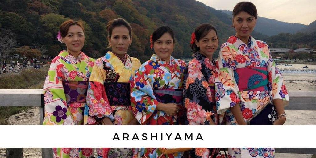 เที่ยวญี่ปุ่นอะระชิยาม่า