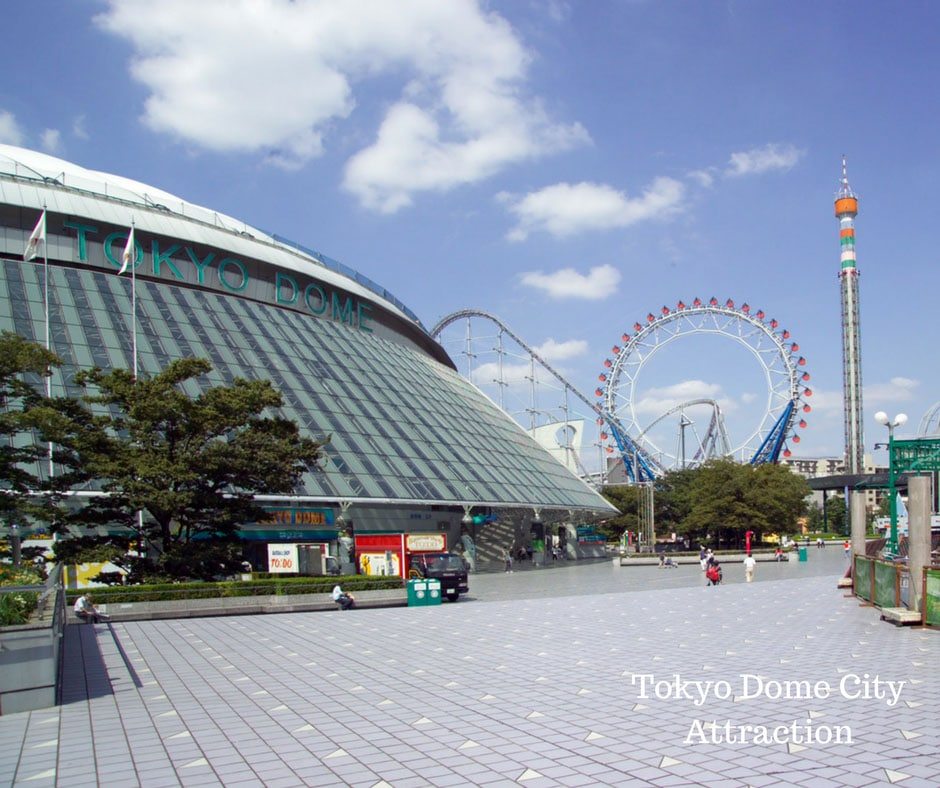 Tokyo Dome City Attraction - Eiyaida