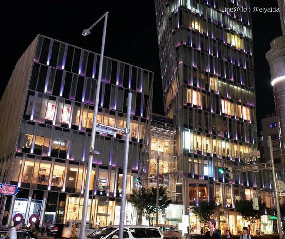 17 ห้างดังย่านชิบูย่า - Aoyama Area Shibuya