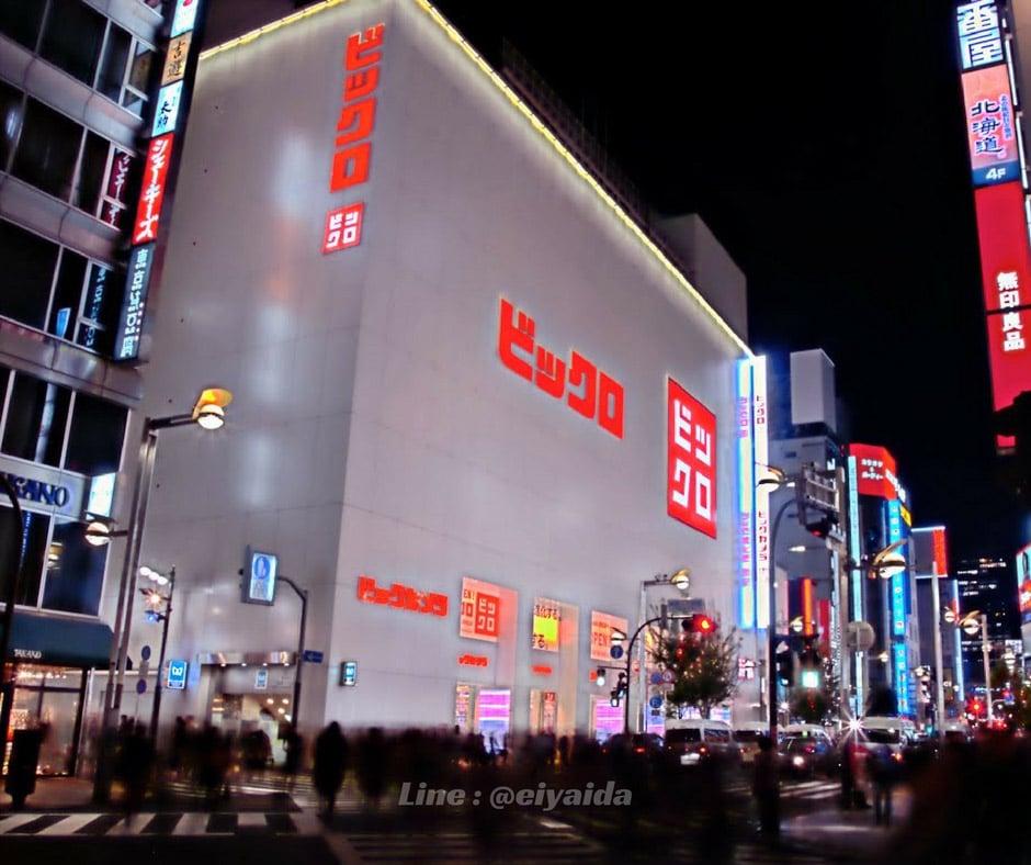 ช็อปปิ้งย่านชินจูกุ ที่ BICQLO Shinjuku