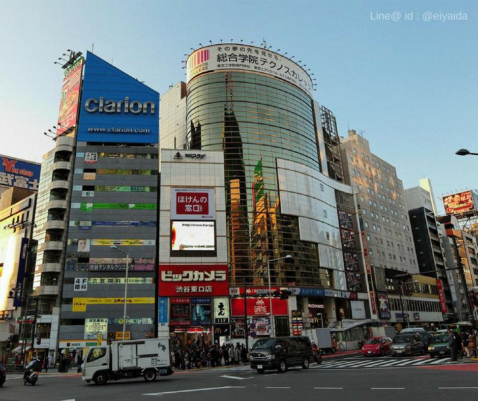 17 ห้างดังย่านชิบูย่า - Meiji Dori Shibuya