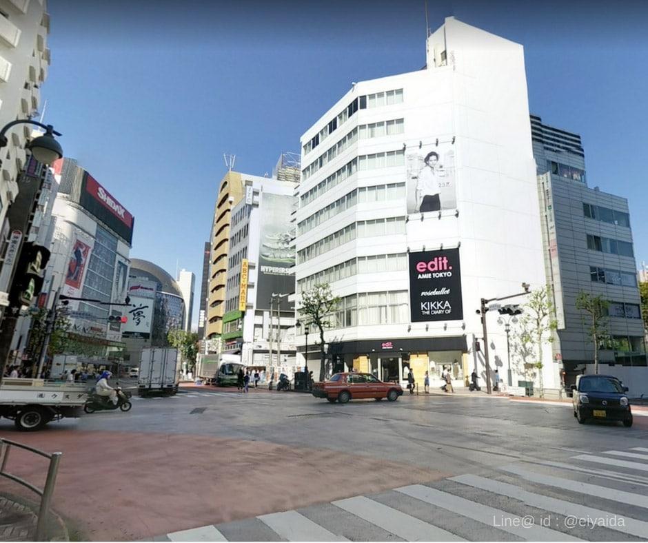 17 ห้างดังย่านชิบูย่า - Shibuya Jinnan Area
