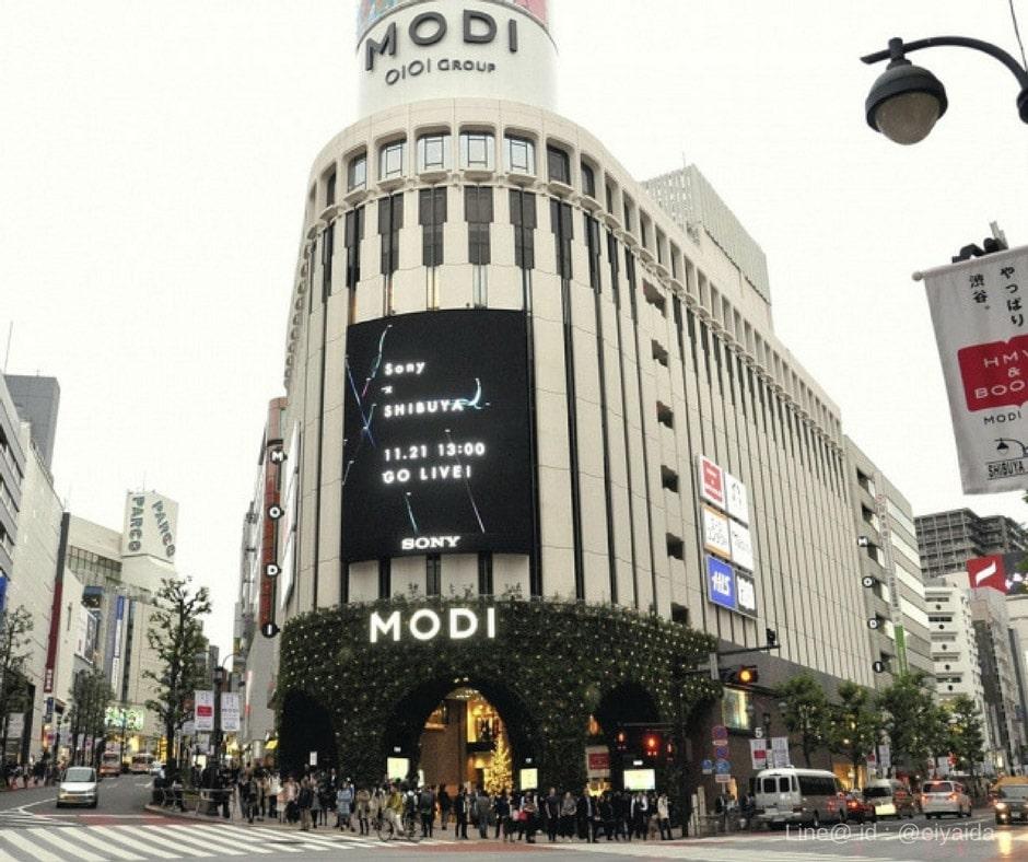 17 ห้างดังย่านชิบูย่า - Shibuya MODI