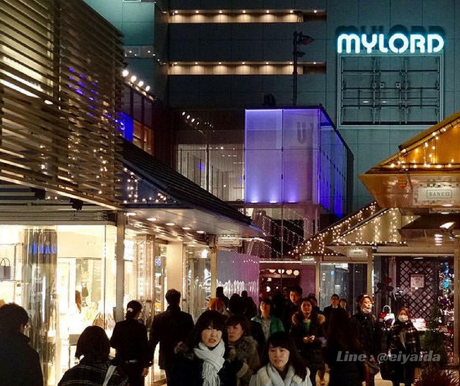 ช็อปปิ้งย่านชินจูกุ ที่ Shinjuku Mylord