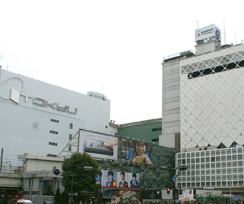 17 ห้างดังย่านชิบูย่า - Tokyu Shibuya