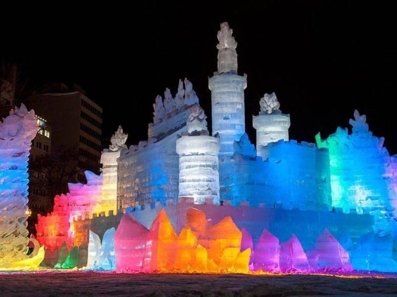 เที่ยวเทศกาลหิมะฮอกไกโด