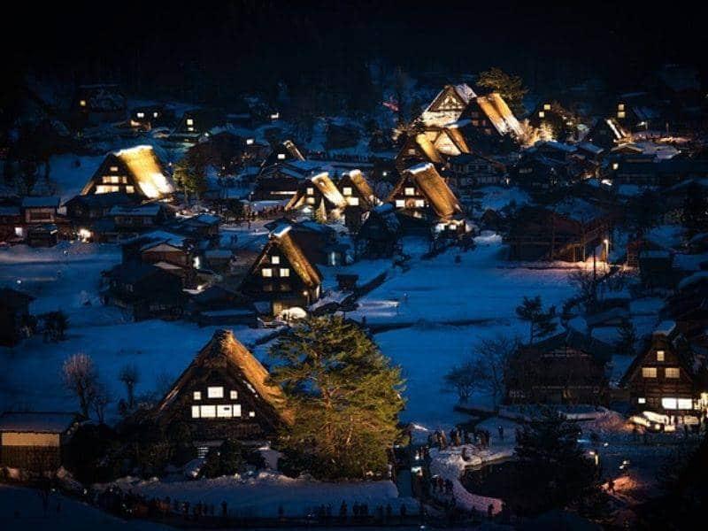 Light Up Shiragawago Japan