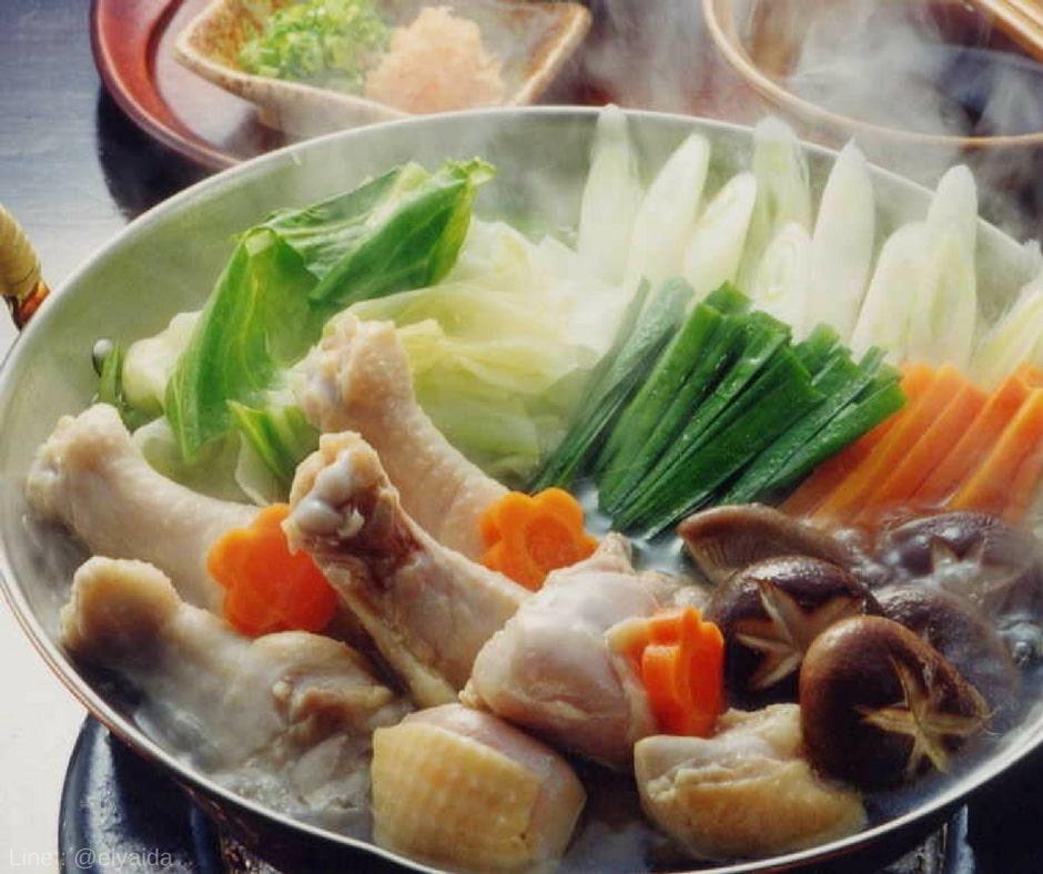 Mizutaki - อาหารหน้าหนาวของญี่ปุ่น
