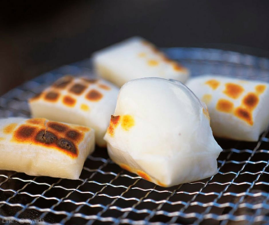 Mochi - อาหารหน้าหนาวของญี่ปุ่น