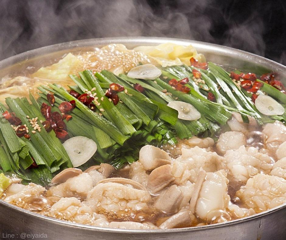 Motsunabe - อาหารหน้าหนาวของญี่ปุ่น