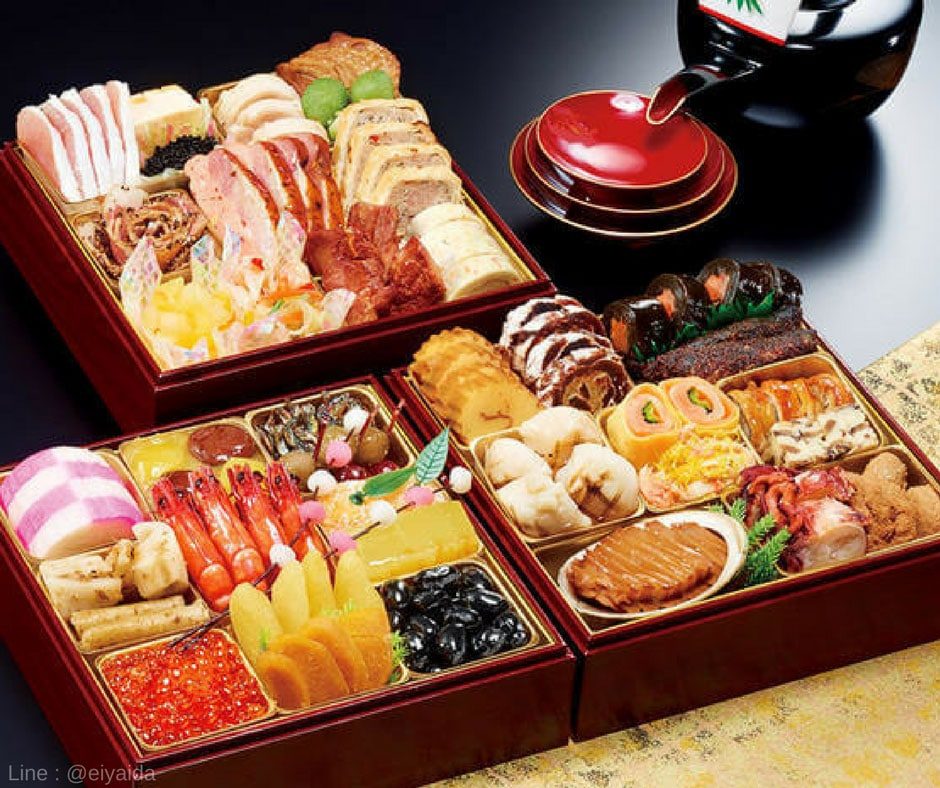 Osechi - อาหารหน้าหนาวของญี่ปุ่น