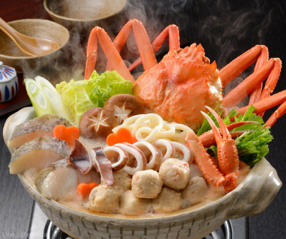 Yosenabe - อาหารหน้าหนาวของญี่ปุ่น