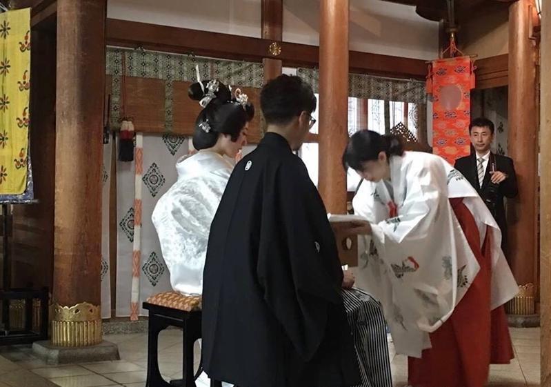 การคำนับแบบญี่ปุ่น ในงานแต่งงาน