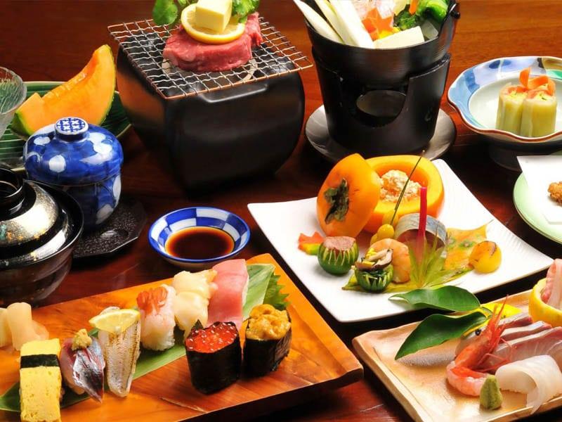 อาหารเซ็ทญี่ปุ่น