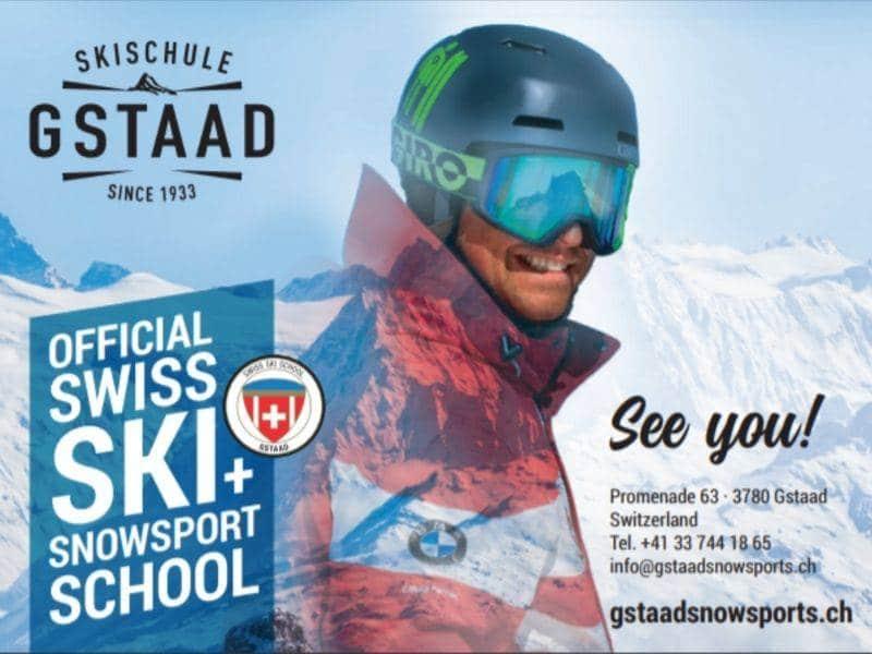 Gstaad Ski Slope