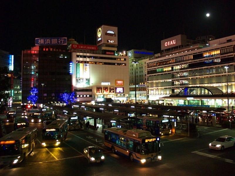 ย่านชุมชนแออัดโตเกียว ที่สถานีโยโกฮาม่า