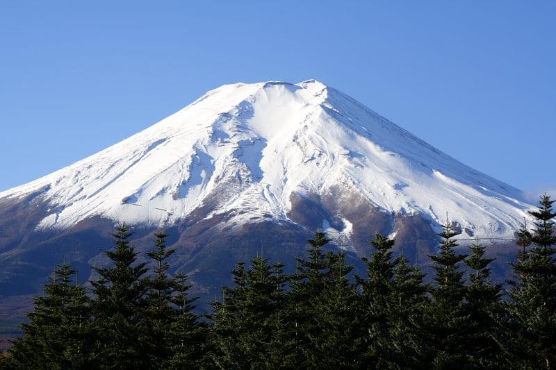 ยอดภูเขาไฟฟูจิ